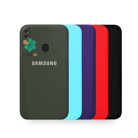 خرید قاب گوشی سامسونگ Samsung Galaxy A20s مدل سیلیکونی محافظ لنز دار