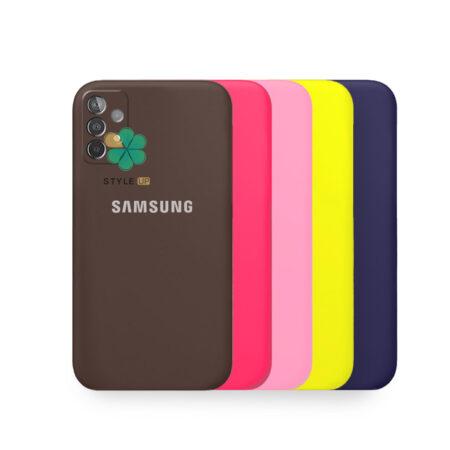 خرید قاب گوشی سامسونگ Galaxy A52 مدل سیلیکونی محافظ لنز دار