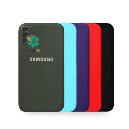 خرید قاب گوشی سامسونگ Galaxy A71 مدل سیلیکونی محافظ لنز دار