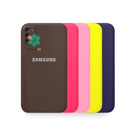 خرید قاب گوشی سامسونگ Samsung Galaxy M02s مدل سیلیکونی محافظ لنز دار