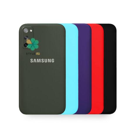 خرید قاب گوشی سامسونگ Galaxy S20 FE مدل سیلیکونی محافظ لنز دار