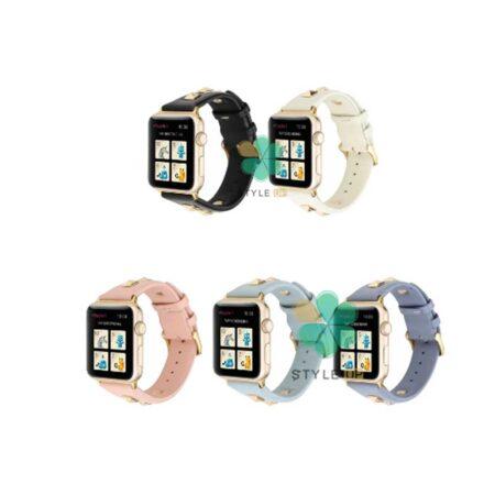 خرید بند چرم ساعت اپل واچ Apple Watch 38/40mm مدل Punk