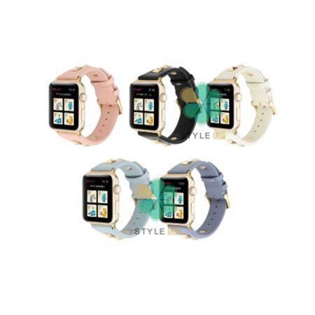 خرید بند چرم ساعت اپل واچ Apple Watch 42/44mm مدل Punk