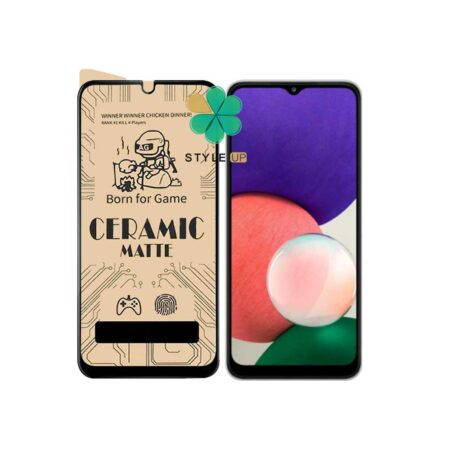 خرید گلس سرامیکی مات گوشی سامسونگ Samsung Galaxy A22 5G