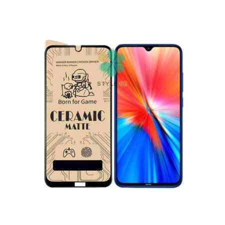 خرید محافظ صفحه سرامیکی مات گوشی شیائومی Xiaomi Redmi Note 8 2021