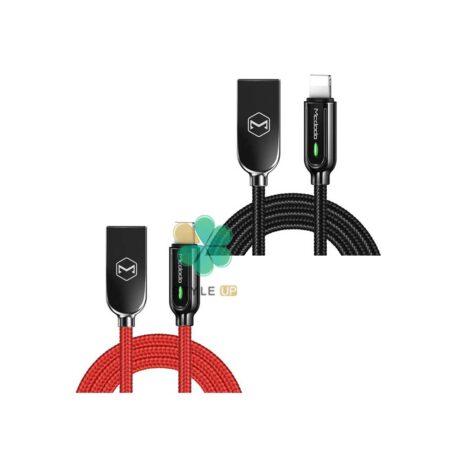 قیمت کابل شارژ هوشمند لایتنینگ مک دودو مدل Mcdodo Ca-526 1.8M