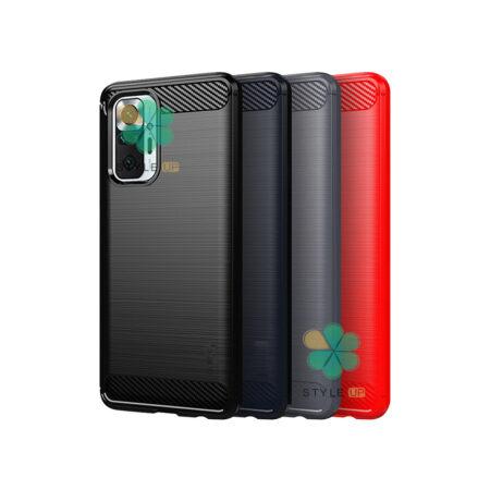 خرید قاب کربنی گوشی شیائومی Redmi Note 10 Pro Max طرح Metal