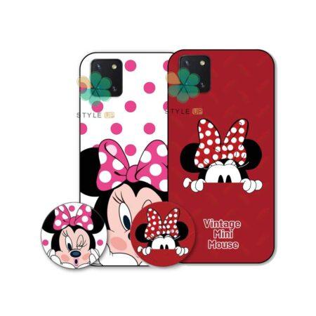 خرید قاب گوشی سامسونگ Galaxy Note 10 Lite / A81 طرح Minnie Mouse