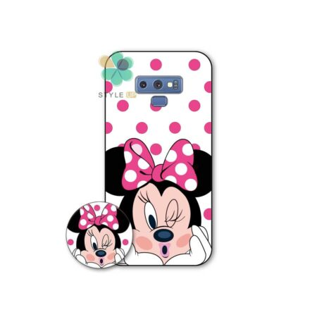 خرید قاب گوشی سامسونگ Samsung Galaxy Note 9 طرح Minnie Mouse
