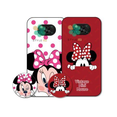 خرید قاب گوشی شیائومی Xiaomi Poco X3 Pro طرح Minnie Mouse