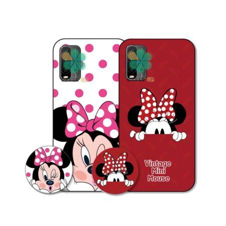 خرید قاب گوشی شیائومی Xiaomi Redmi Note 9 4G طرح Minnie Mouse