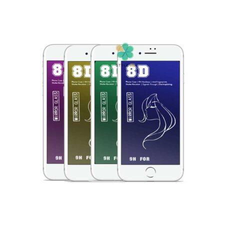خرید محافظ صفحه گلس گوشی آیفون iPhone 7 Plus / 8 Plus مدل آینه ای