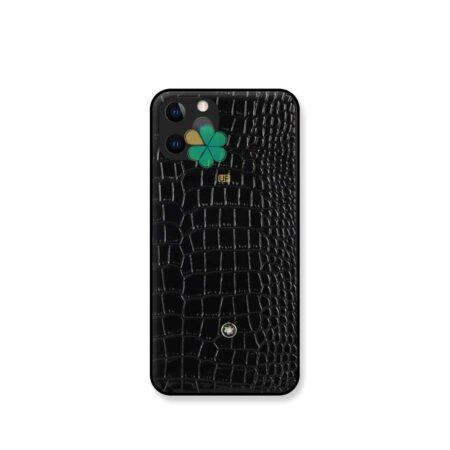 خرید قاب چرمی گوشی اپل Apple iPhone 11 Pro Max برند Mont Blanc