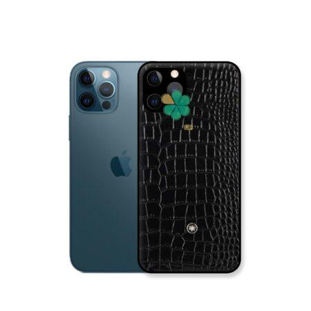 خرید قاب چرمی گوشی اپل آیفون Apple iPhone 12 Pro برند Mont Blanc