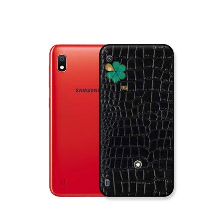خرید قاب چرمی گوشی سامسونگ Samsung Galaxy A10 برند Mont Blanc