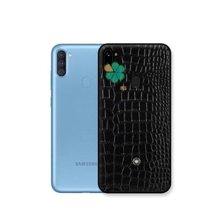 خرید قاب چرمی گوشی سامسونگ Samsung Galaxy A11 برند Mont Blanc