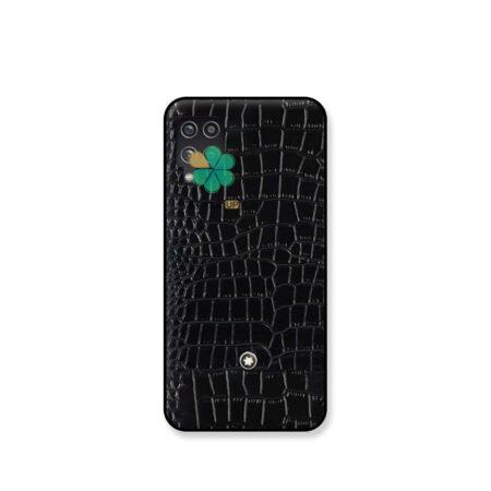خرید قاب چرمی گوشی سامسونگ Samsung Galaxy A12 برند Mont Blanc