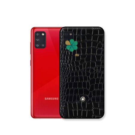 خرید قاب چرمی گوشی سامسونگ Samsung Galaxy A31 برند Mont Blanc