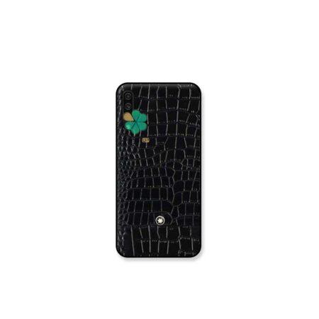 خرید قاب چرمی گوشی سامسونگ Samsung Galaxy A70s برند Mont Blanc