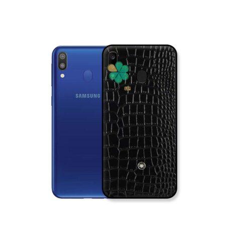 خرید قاب چرمی گوشی سامسونگ Samsung Galaxy M20 برند Mont Blanc