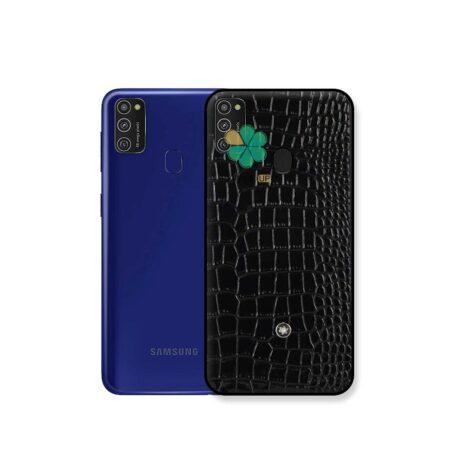 خرید قاب چرمی گوشی سامسونگ Samsung Galaxy M21 برند Mont Blanc