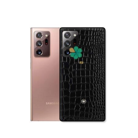 خرید قاب چرمی گوشی سامسونگ Galaxy Note 20 Ultra برند Mont Blanc