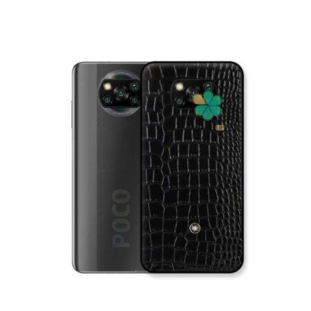 خرید قاب چرمی گوشی شیائومی Xiaomi Poco X3 Pro برند Mont Blanc