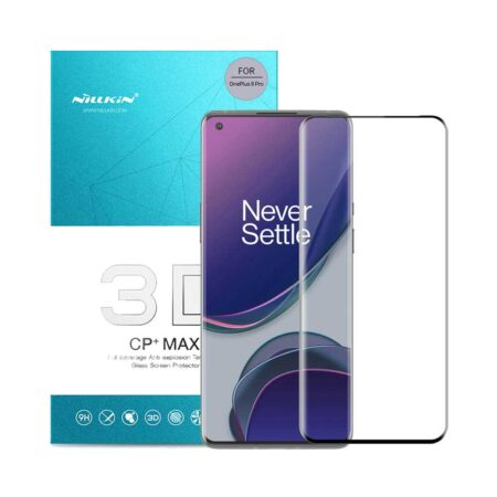 عکس گلس 3D نیلکین گوشی وان پلاس OnePlus 9 Pro مدل CP+ Max