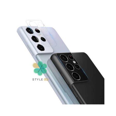 خرید گلس لنز دوربین نیلکین گوشی سامسونگ Galaxy S21 Ultra 5G مدل Invisifilm