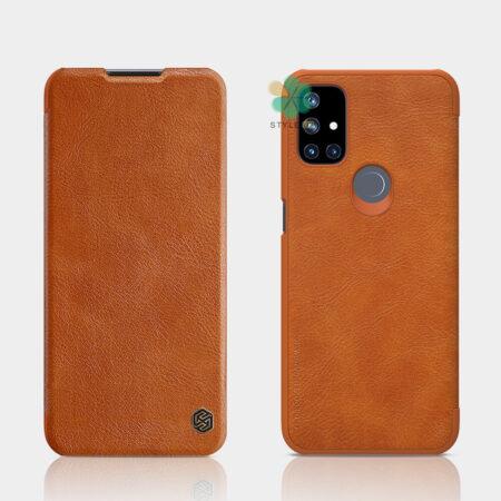 خرید کیف چرمی نیلکین گوشی وان پلاس OnePlus Nord N10 5G مدل Qin