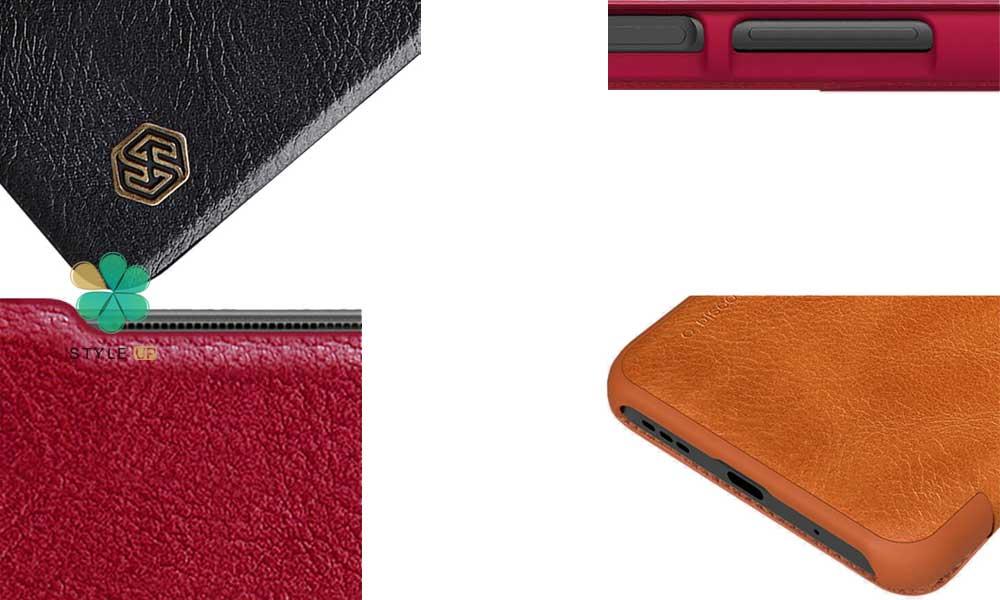 خرید کیف چرمی نیلکین گوشی شیائومی Xiaomi Poco M3 Pro مدل Qin