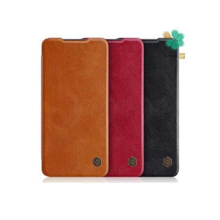 خرید کیف چرمی نیلکین گوشی شیائومی Xiaomi Redmi 9 Prime مدل Qin