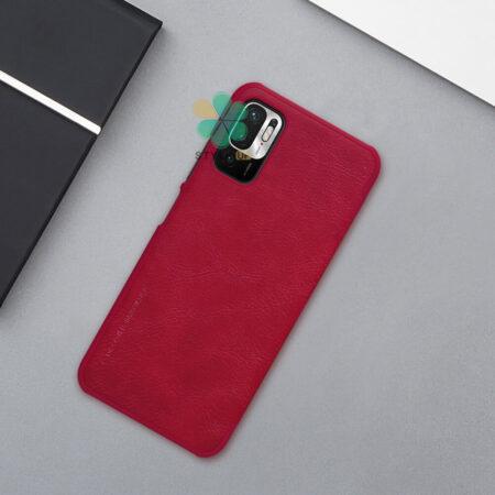 عکس کیف چرمی نیلکین گوشی شیائومی Redmi Note 10 5G مدل Qin