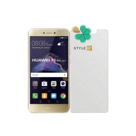 خرید گلس بدون حاشیه سرامیکی گوشی هواوی Huawei P8 Lite 2017 مدل مات
