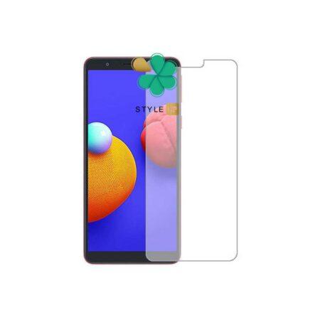 خرید گلس بدون حاشیه سرامیکی گوشی Samsung Galaxy A01 Core مدل مات