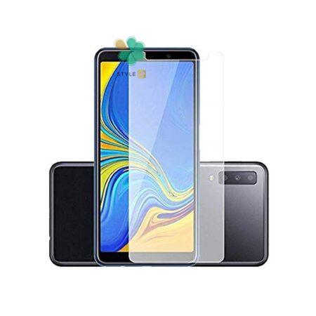 خرید گلس بدون حاشیه سرامیکی گوشی سامسونگ Galaxy A7 2018 مدل مات