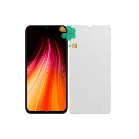 خرید گلس بدون حاشیه سرامیکی گوشی شیائومی Redmi Note 8 مدل مات