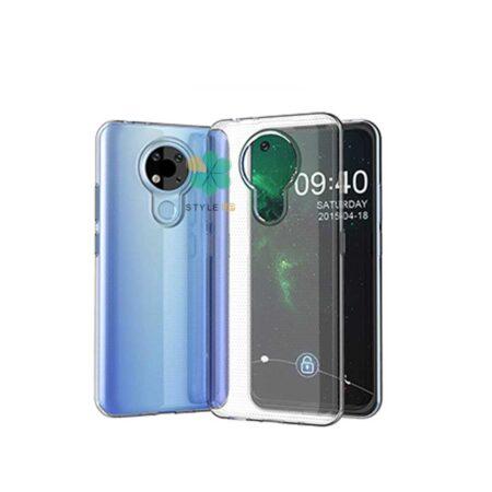 خرید قاب گوشی نوکیا Nokia 3.4 مدل ژله ای شفاف