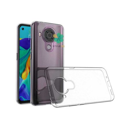 خرید قاب گوشی نوکیا Nokia 5.4 مدل ژله ای شفاف