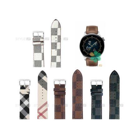 خرید بند ساعت هواوی واچ Huawei Watch 3 طرح لویی ویتون