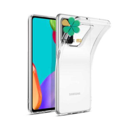 عکس قاب گوشی سامسونگ Samsung Galaxy F52 5G مدل ژله ای شفاف
