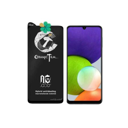 خرید گلس سرامیکی مات گوشی سامسونگ Samsung Galaxy A22 4G برند Mietubl