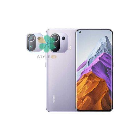 خرید محافظ گلس لنز دوربین گوشی شیائومی Xiaomi Mi 11 Pro