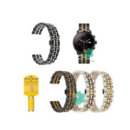 خرید بند استیل ساعت شیائومی Xiaomi Amazfit Stratos مدل Rolex