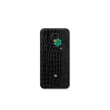 خرید قاب چرمی گوشی شیائومی Redmi Note 9s / 9 Pro برند Mont Blanc