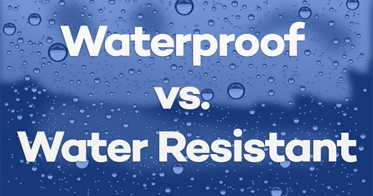 ضد آب بودن یا مقاومت در برابر آب