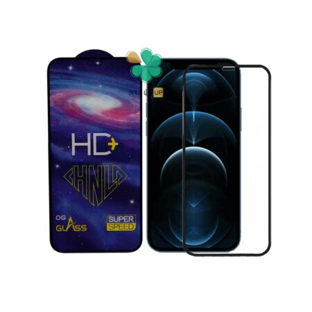 خرید گلس فول گوشی آیفون Apple iPhone 12 Pro Max مدل HD Plus