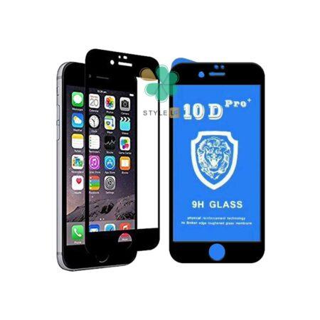 خرید گلس تمام صفحه گوشی ایفون Apple iPhone 6 / 6s مدل 10D Pro