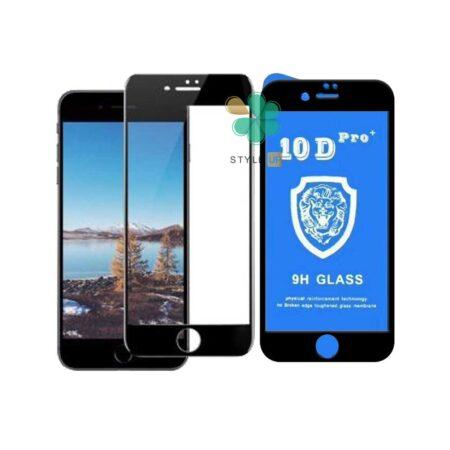 خرید گلس تمام صفحه گوشی ایفون Apple iPhone 7 / 8 مدل 10D Pro