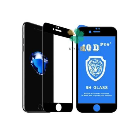 خرید گلس تمام صفحه گوشی ایفون Apple iPhone SE 2020 مدل 10D Pro